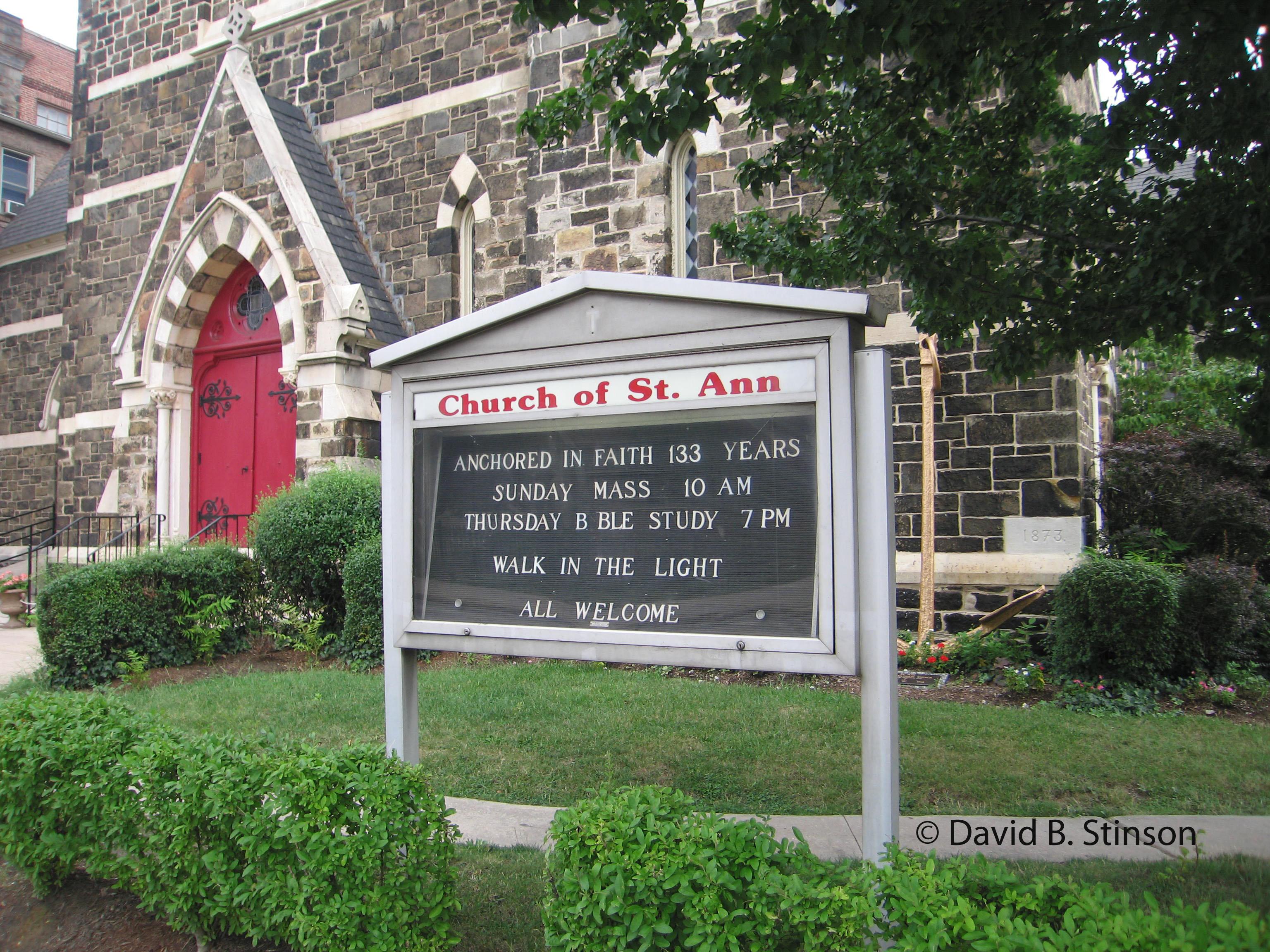John Mcgraw And St Ann S Catholic Church Baltimore