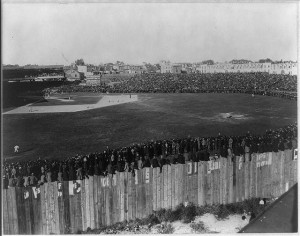 Union Park, Baltimore, Home of the National League Orioles, circa 1897 (Library of Congress Prints and Photographs Division)