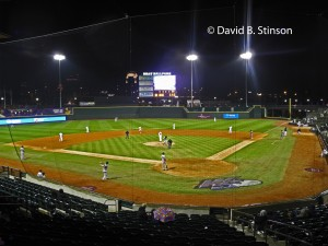 Rain Doesn't Stop the Winston-Salem Dash From Battling The Salem Red Sox At BB&T Ballpark