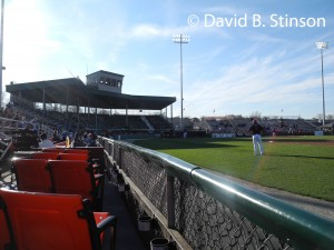 Municipal Stadium, Current Home of the Hagerstown Suns
