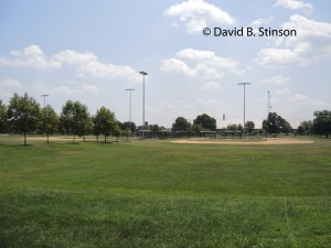 Youth Baseball Fields at Carroll Park in Baltimore