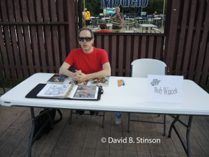 Comic Book Artist and Writer Bob Wiacek