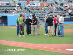 First Pitch - Joe Sinnott, Walt Simonson, Louise Simonson, Mark McKenna, Bob Wiacek, Fred Hembeck, and J.L. Castro, Jr.