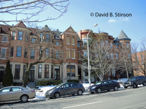 2700 Block of St. Paul Street in Baltimore, Maryland. Where Wilbert Robertson and John McGraw Once Lived
