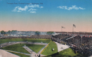 Terrapin Park Postcard (Chessler Company, Baltimore, Maryland)