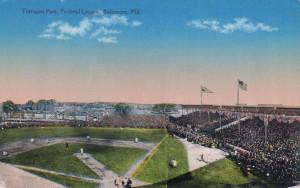 Terrapin Park Postcard (Chessler Company, Baltimore, Maryland)