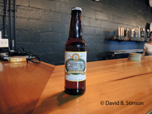 Bottle of Old Oriole Park Bohemian Beer, Peabody Heights Brewery, Baltimore, Maryland