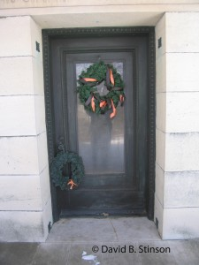 Entrance to McGraw - Lill Mausoleum