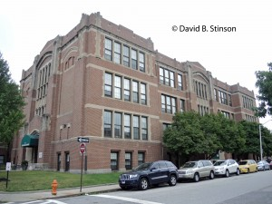Former Southern High School Building at Warren Avenue and William Street