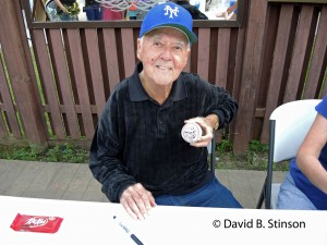 Legendary Artist and Inker Joe Sinnott Displays His Latest Creation, The Thing Signed Baseball