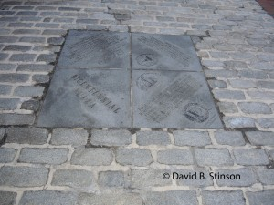 Bicentennial Plaza Marker, Baltimore Inner Harbor