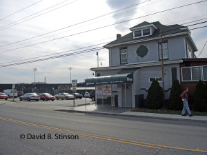 Stadium Grill and Tavern, With Municipal Stadium in Background, Hagerstown, Maryland