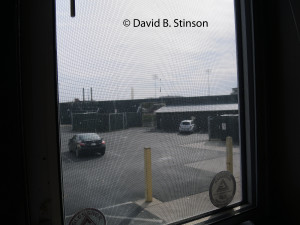 A Room With A View of Hagerstown Municpal Stadium From the Stadium Grill and Tavern