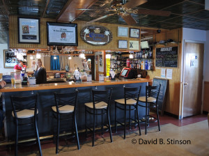 Interior of Stadium Grill and Tavern, Hagerstown, Maryland