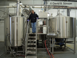 Ernie Igot, Head Brewer, Peabody Heights Brewery, Baltimore, Maryland