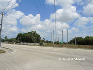 Power Line Running North East Across Havermill Road  Near Future Nationals Spring Training Site