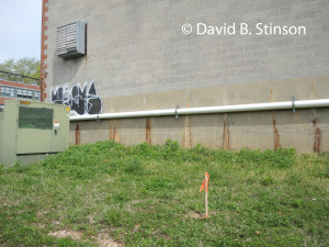 Site of Old Oriole Park Pitchers Mound, Located Behind Peabody Heights Brewery, Baltimore, Maryland