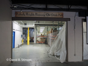 Peabody Heights Brewery at Old Oriole Park, Baltimore, Maryland