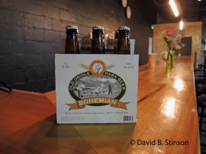 Six Pack of Old Oriole Park Bohemian Beer, Peabody Heights Brewery, Baltimore, Maryland