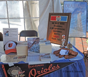 Baltimore Book Festival Display for Deadball