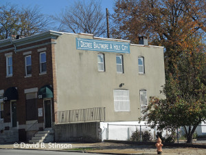 Power House World Ministries Building on Belair Road, Baltimore, Maryland