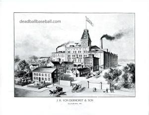 Von Der Horst Brewery Circa 1890