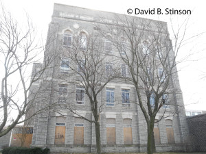 Four Story Stone Building Located On Former Site Of St. Mary's Industrial School For Boys, Baltimore, Maryland